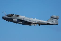 Tomo-Papaさんが、厚木飛行場で撮影したアメリカ海兵隊 EA-6B Prowler (G-128)の航空フォト(飛行機 写真・画像)