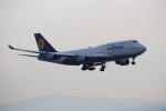 MRJさんが、関西国際空港で撮影したルフトハンザドイツ航空 747-430の航空フォト(写真)