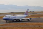 MRJさんが、関西国際空港で撮影したチャイナエアライン 747-409F/SCDの航空フォト(写真)