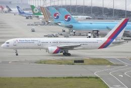 なぁちゃんさんが、関西国際空港で撮影したロイヤル・ネパール航空 757-2F8の航空フォト(飛行機 写真・画像)