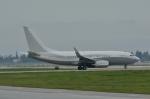 小弦さんが、ノーマン・Y・ミネタ・サンノゼ国際空港で撮影したファースト・ヴァーチャル・エア 737-7JY BBJの航空フォト(写真)