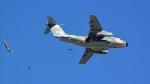 santaさんが、習志野演習場で撮影した航空自衛隊 C-1の航空フォト(写真)