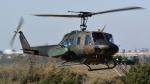 santaさんが、習志野演習場で撮影した陸上自衛隊 UH-1Jの航空フォト(写真)