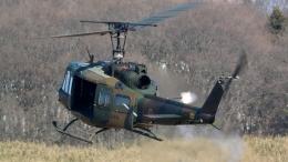 santaさんが、習志野演習場で撮影した陸上自衛隊 UH-1Jの航空フォト(飛行機 写真・画像)