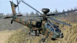 santaさんが、習志野演習場で撮影した陸上自衛隊 AH-64Dの航空フォト(飛行機 写真・画像)