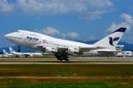 RUSSIANSKIさんが、クアラルンプール国際空港で撮影したイラン航空 747SP-86の航空フォト(飛行機 写真・画像)