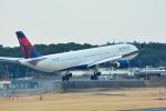 パンダさんが、成田国際空港で撮影したデルタ航空 A330-302の航空フォト(写真)