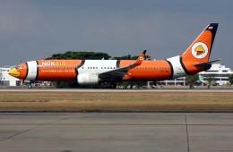 VICTER8929さんが、ドンムアン空港で撮影したノックエア 737-83Nの航空フォト(飛行機 写真・画像)