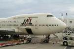 りさきちさんが、那覇空港で撮影した日本航空 747-446Dの航空フォト(写真)