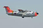 うめやしきさんが、厚木飛行場で撮影した海上自衛隊 US-1Aの航空フォト(飛行機 写真・画像)