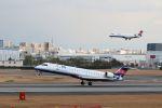 山河 彩さんが、伊丹空港で撮影したアイベックスエアラインズ CL-600-2C10 Regional Jet CRJ-702の航空フォト(飛行機 写真・画像)