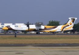RA-86141さんが、ドンムアン空港で撮影したノックエア DHC-8-402Q Dash 8の航空フォト(飛行機 写真・画像)
