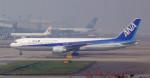 YuukiToonoさんが、広州白雲国際空港で撮影した全日空 767-381/ERの航空フォト(飛行機 写真・画像)