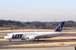 みそらさんが、成田国際空港で撮影したLOTポーランド航空 787-8 Dreamlinerの航空フォト(飛行機 写真・画像)