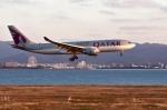 we love kixさんが、関西国際空港で撮影したカタール航空 A330-202の航空フォト(写真)
