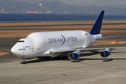 non-nonさんが、中部国際空港で撮影したボーイング 747-409(LCF) Dreamlifterの航空フォト(飛行機 写真・画像)