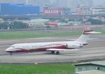 じーく。さんが、台北松山空港で撮影したサンライダー MD-87 (DC-9-87)の航空フォト(飛行機 写真・画像)