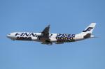 mogusaenさんが、成田国際空港で撮影したフィンエアー A340-313Xの航空フォト(飛行機 写真・画像)
