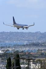 EarthScapeさんが、サンディエゴ国際空港で撮影したユナイテッド航空 737-824の航空フォト(写真)