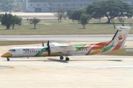Itami Spotterさんが、ドンムアン空港で撮影したノックエア DHC-8-402Q Dash 8の航空フォト(飛行機 写真・画像)