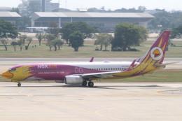 Itami Spotterさんが、ドンムアン空港で撮影したノックエア 737-86Nの航空フォト(飛行機 写真・画像)