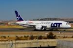 RUSSIANSKIさんが、マドリード・バラハス国際空港で撮影したエア・ヨーロッパ 787-8 Dreamlinerの航空フォト(飛行機 写真・画像)