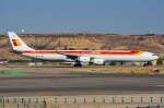 RUSSIANSKIさんが、マドリード・バラハス国際空港で撮影したイベリア航空 A340-642の航空フォト(写真)