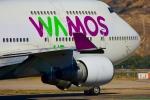 RUSSIANSKIさんが、マドリード・バラハス国際空港で撮影したワモス・エア 747-446の航空フォト(飛行機 写真・画像)