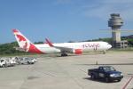 TRIPworldさんが、サングスター国際空港で撮影したエア・カナダ・ルージュ 767-333/ERの航空フォト(写真)