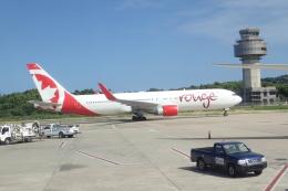 TRIPworldさんが、サングスター国際空港で撮影したエア・カナダ・ルージュ 767-333/ERの航空フォト(飛行機 写真・画像)