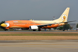 航空フォト:HS-DBF ノックエア 737-800