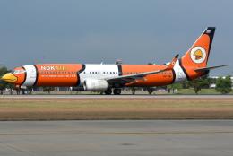 jun☆さんが、ドンムアン空港で撮影したノックエア 737-83Nの航空フォト(飛行機 写真・画像)