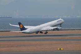 航空フォト:D-AIHO ルフトハンザドイツ航空 A340-600