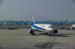 delawakaさんが、青島流亭国際空港で撮影した全日空 767-381/ERの航空フォト(飛行機 写真・画像)