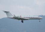 じーく。さんが、台北松山空港で撮影したユタ銀行 G-IV-X Gulfstream G450の航空フォト(飛行機 写真・画像)