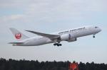 れえどんさんが、成田国際空港で撮影した日本航空 787-8 Dreamlinerの航空フォト(写真)