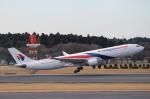 れえどんさんが、成田国際空港で撮影したマレーシア航空 A330-323Xの航空フォト(写真)
