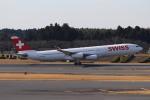 れえどんさんが、成田国際空港で撮影したスイスインターナショナルエアラインズ A340-313Xの航空フォト(写真)