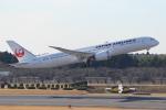 れえどんさんが、成田国際空港で撮影した日本航空 787-9の航空フォト(写真)