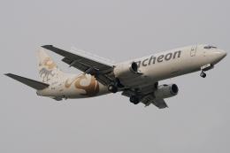 Double_Hさんが、仁川国際空港で撮影したエア・インチョン 737-4Y0/SFの航空フォト(飛行機 写真・画像)