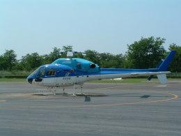 空とぶイルカさんが、群馬ヘリポートで撮影したエクセル航空 AS355N Ecureuil 2の航空フォト(飛行機 写真・画像)