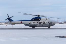 TAKUさんが、札幌飛行場で撮影した陸上自衛隊 EC225LP Super Puma Mk2+の航空フォト(飛行機 写真・画像)
