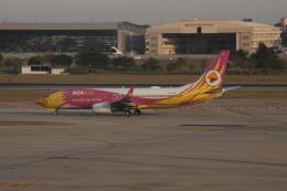 しかばねさんが、ドンムアン空港で撮影したノックエア 737-86Nの航空フォト(飛行機 写真・画像)