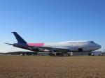 夷月さんが、テューペロ・リージョナル空港で撮影したユナイテッド航空 747-422の航空フォト(飛行機 写真・画像)