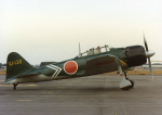 kumagorouさんが、仙台空港で撮影したプレーンズ・オブ・フェイム Zero 52/A6M5の航空フォト(写真)