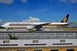 RUSSIANSKIさんが、シンガポール・チャンギ国際空港で撮影したシンガポール航空 777-312/ERの航空フォト(飛行機 写真・画像)