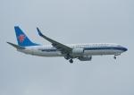 じーく。さんが、台湾桃園国際空港で撮影した中国南方航空 737-81Bの航空フォト(飛行機 写真・画像)