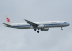 じーく。さんが、台湾桃園国際空港で撮影した中国国際航空 A321-232の航空フォト(飛行機 写真・画像)