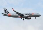 じーく。さんが、台湾桃園国際空港で撮影したジェットスター・アジア A320-232の航空フォト(飛行機 写真・画像)
