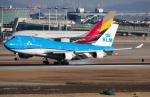 B.K JEONGさんが、仁川国際空港で撮影したKLMオランダ航空 747-406Mの航空フォト(写真)